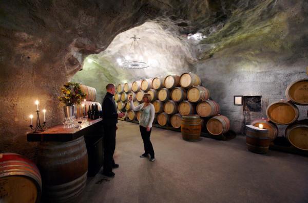 Gibbston valley winery, Gibbston Valley. New Zealand.