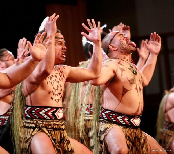 The Maori haka
